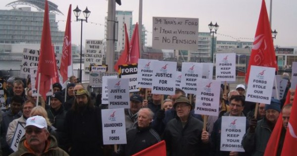 Visteon workers continue pensions battle national shop for Ford motor company pension contact number