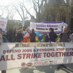 NSSN supporters lent their support to the march