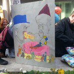 One of the many birthday cards sent to Grayling from the protest