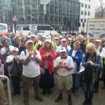 Rally applauds work of Unite and General Secretary Len McCluskey
