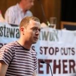 Adam Lambert, Unite 1111 Housing branch and St. Mungo's Convener on the fight of housing workers.