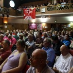 A full house at Conway Hall