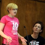 Helen Pattison from Youth Fight for Jobs on organising for £10 an hour minimum wage