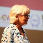 Linda Taaffe, NSSN secretary delivers conference statement.