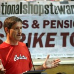 Martin Powell-Davies NUT NEC (pc) warns that strike momentum must be maintained after July 10th.