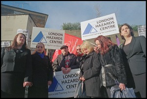 Family of Rene Tkacik join health & safety campaigners at the inquest into his death on a Crossrail site.