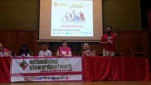 Sacked Greek Vodafone worker, Harris Sedaris speaks at 2015 NSSN conference