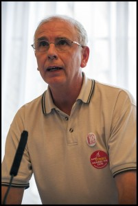 John Vasey, sacked Royal Mail rep