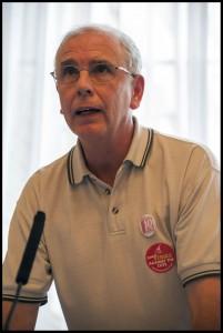 John Vasey, sacked Royal Mail rep