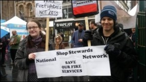 Leicester NSSN protest