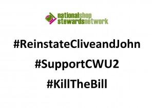 #ReinstateCliveandJohn