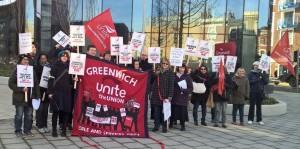 Greenwich Unite library strike