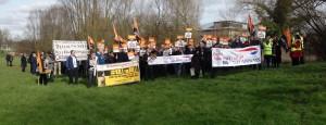 GMB BA protest