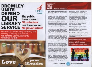 Bromley library leaflet