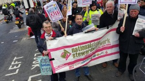 NSSN on April 26 BMA NUT demo