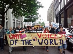 June 21 protest