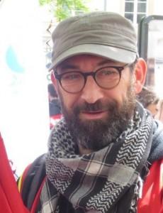 Yann Venier – Secretary of the CGT trade union coordinating committee in Nancy
