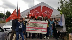Lea Interchange picket