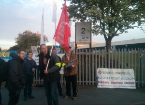 Swindon BMW picket April 19th