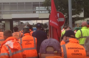 Brum bin strike