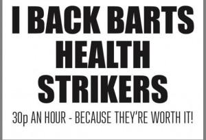 I back Barts strike
