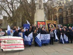 NSSN supporting POA December 5th lobby of Parliament