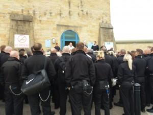 HMP Leeds protest meeting