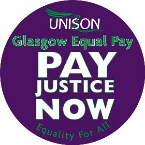 Glasgow Unison Equal Pay logo