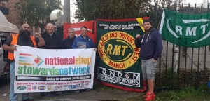 RMT Piccadilly Line strike September 2018