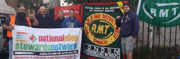RMT Piccadilly Line strike September 2018
