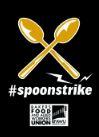 Spoons strike logo