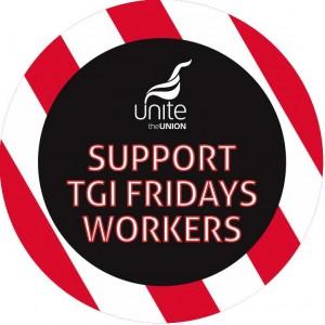 TGI FRidays strike logo