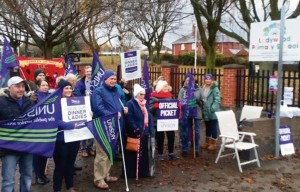 Grimethorpe picket