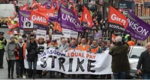 SPS Glasgow Equal Pay strike