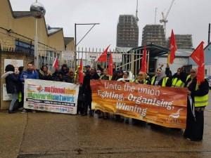 Unite Hackney Passenger strike