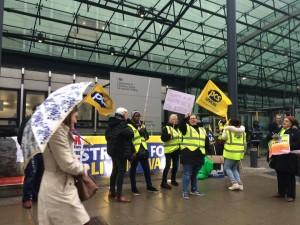 PCS BEIS strike