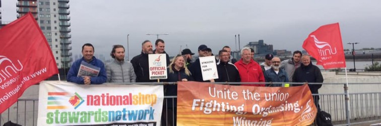 Woolwich Ferry strike May 17