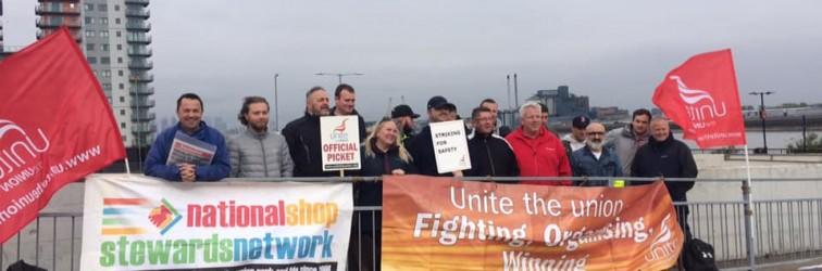 Woolwich Ferry strike May 17