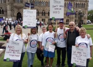 Bradford NHS strike