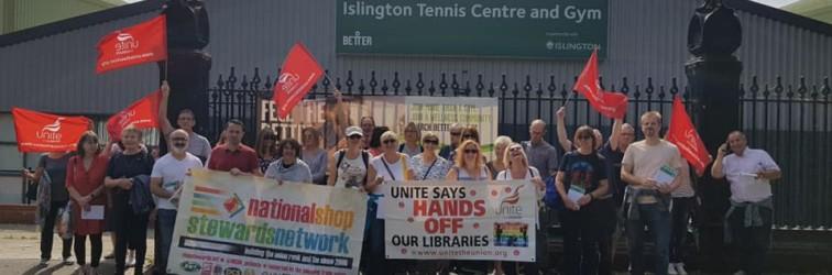Bromley library strike 2019#2