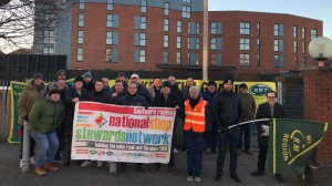 Fratton SWR picket