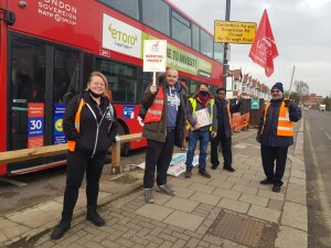 Harrow bus strike