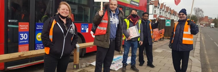 Harrow bus strike