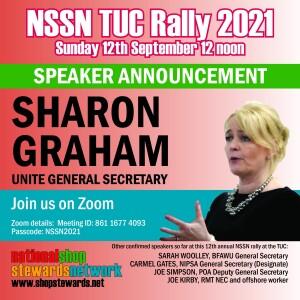 NSSN TUC rally 2021 SG announce